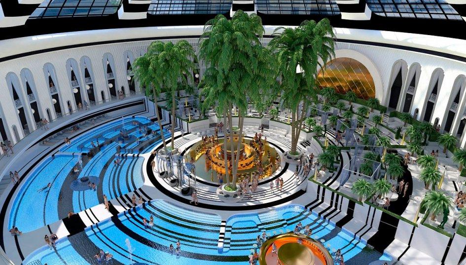 Концертный зал с бассейном откроют к 2022 году
